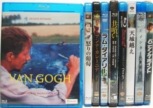 埼玉県鴻巣市 Blu-rayを約300点出張買取しました。