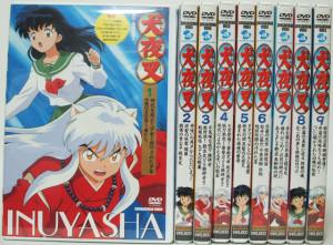 埼玉県春日部市【犬夜叉 DVD】他、アニメDVD約400点出張買取しました。